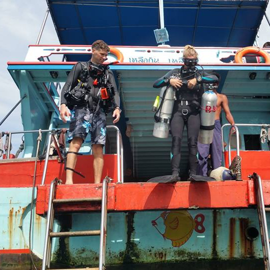 Koh Tao diving internship
